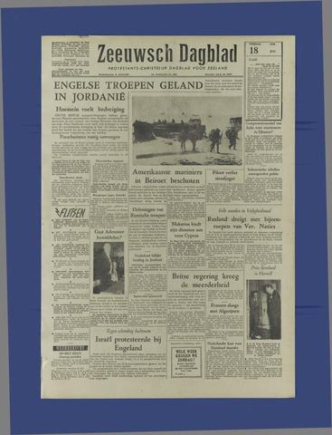 Zeeuwsch Dagblad 1958-07-18