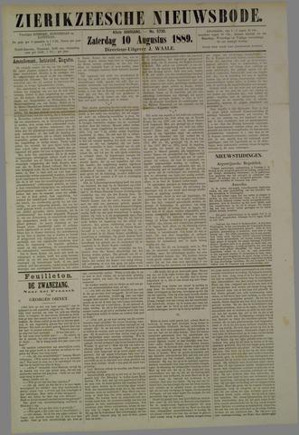 Zierikzeesche Nieuwsbode 1889-08-10