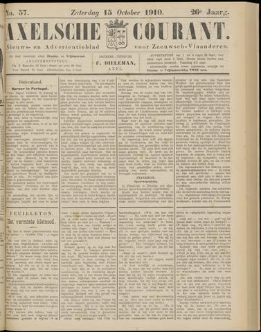 Axelsche Courant 1910-10-15