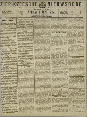 Zierikzeesche Nieuwsbode 1917-06-01