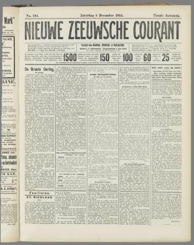 Nieuwe Zeeuwsche Courant 1914-12-05