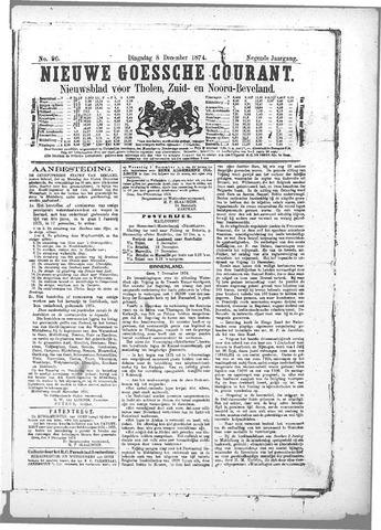 Nieuwe Goessche Courant 1874-12-08