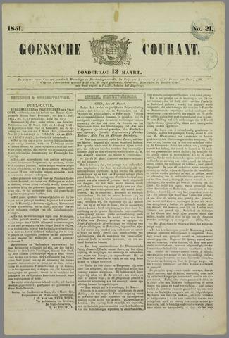Goessche Courant 1851-03-13