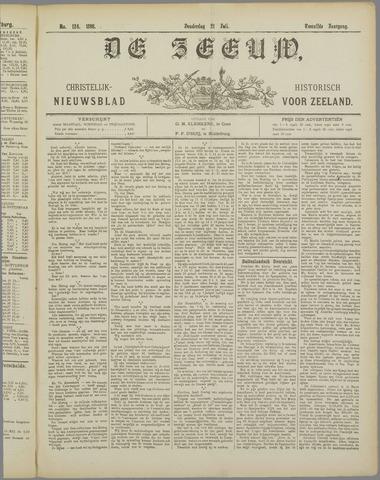 De Zeeuw. Christelijk-historisch nieuwsblad voor Zeeland 1898-07-21