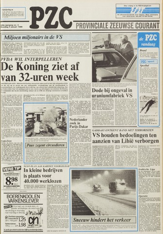 Provinciale Zeeuwse Courant 1986-01-06