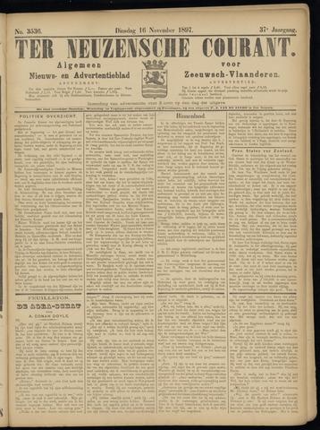 Ter Neuzensche Courant. Algemeen Nieuws- en Advertentieblad voor Zeeuwsch-Vlaanderen / Neuzensche Courant ... (idem) / (Algemeen) nieuws en advertentieblad voor Zeeuwsch-Vlaanderen 1897-11-16