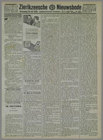 Zierikzeesche Nieuwsbode 1930-07-30