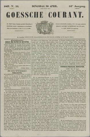 Goessche Courant 1867-04-30