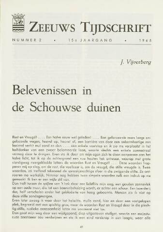 Zeeuws Tijdschrift 1965-03-01