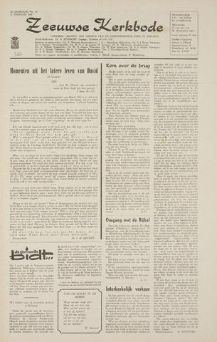 Zeeuwsche kerkbode, weekblad gewijd aan de belangen der gereformeerde kerken/ Zeeuwsch kerkblad 1968-02-22