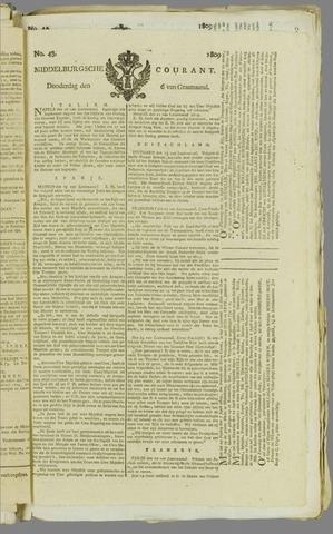 Middelburgsche Courant 1809-04-06