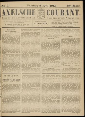 Axelsche Courant 1913-04-09