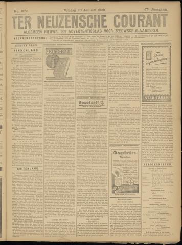 Ter Neuzensche Courant. Algemeen Nieuws- en Advertentieblad voor Zeeuwsch-Vlaanderen / Neuzensche Courant ... (idem) / (Algemeen) nieuws en advertentieblad voor Zeeuwsch-Vlaanderen 1928-01-20