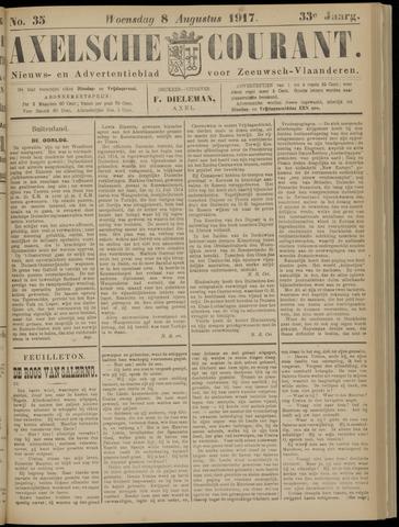 Axelsche Courant 1917-08-08
