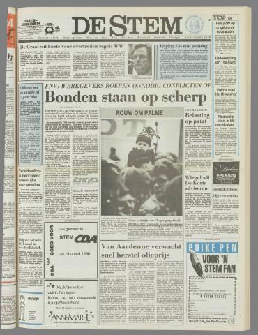 de Stem 1986-03-11