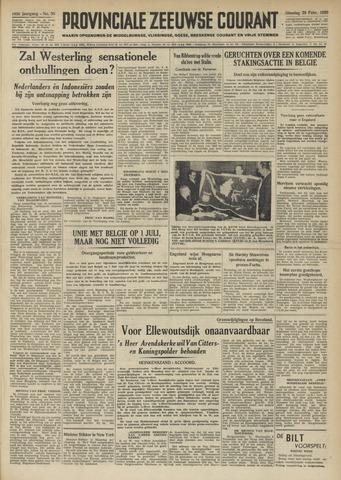 Provinciale Zeeuwse Courant 1950-02-28