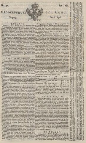 Middelburgsche Courant 1762-04-06