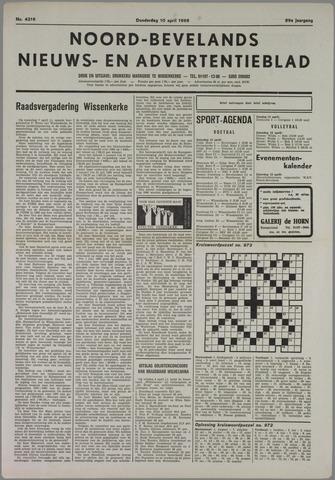 Noord-Bevelands Nieuws- en advertentieblad 1986-04-10