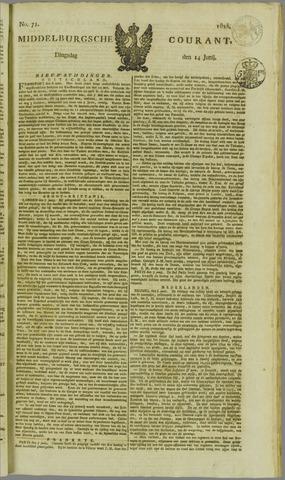 Middelburgsche Courant 1825-06-14