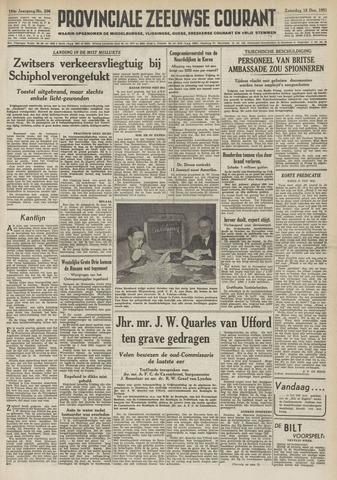 Provinciale Zeeuwse Courant 1951-12-15