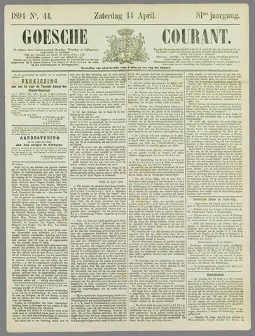 Goessche Courant 1894-04-14