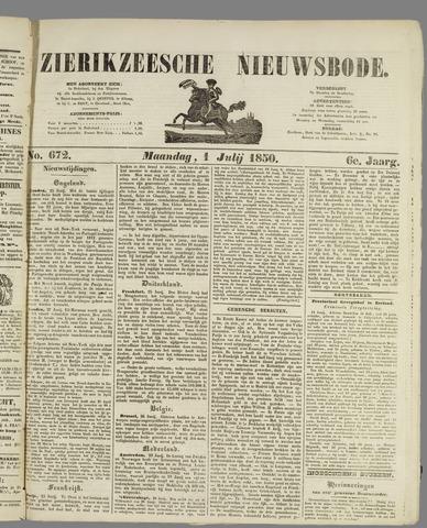 Zierikzeesche Nieuwsbode 1850-07-01