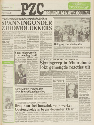 Provinciale Zeeuwse Courant 1978-07-11