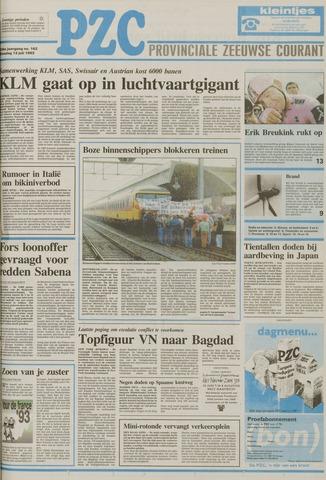 Provinciale Zeeuwse Courant 1993-07-13