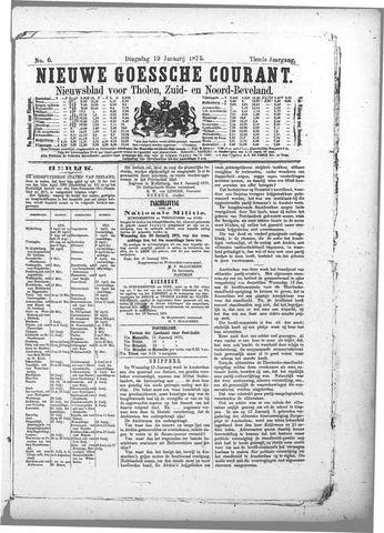 Nieuwe Goessche Courant 1875-01-19