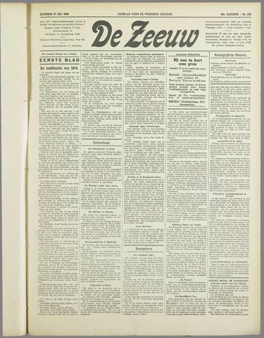 De Zeeuw. Christelijk-historisch nieuwsblad voor Zeeland 1934-07-21