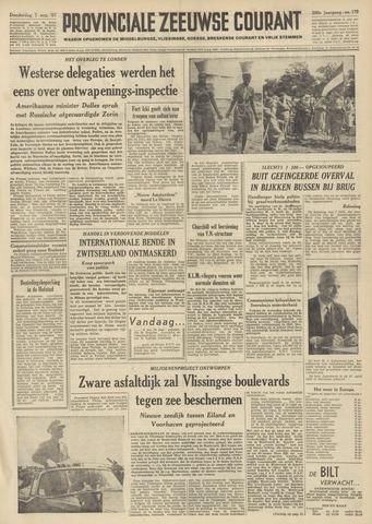 Provinciale Zeeuwse Courant 1957-08-01