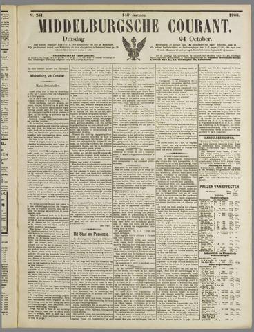 Middelburgsche Courant 1905-10-24