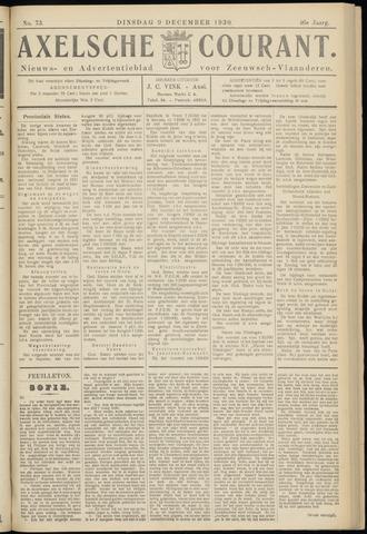 Axelsche Courant 1930-12-09