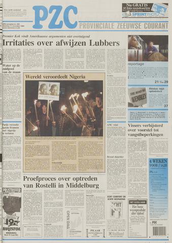 Provinciale Zeeuwse Courant 1995-11-11