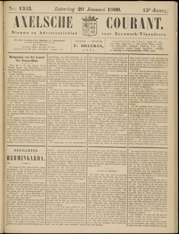 Axelsche Courant 1900-01-20