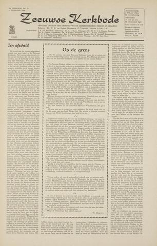 Zeeuwsche kerkbode, weekblad gewijd aan de belangen der gereformeerde kerken/ Zeeuwsch kerkblad 1964-02-21