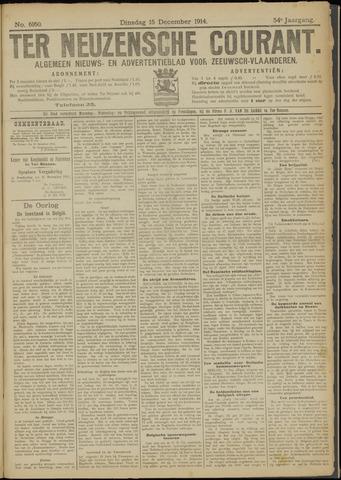 Ter Neuzensche Courant. Algemeen Nieuws- en Advertentieblad voor Zeeuwsch-Vlaanderen / Neuzensche Courant ... (idem) / (Algemeen) nieuws en advertentieblad voor Zeeuwsch-Vlaanderen 1914-12-15
