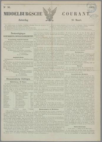 Middelburgsche Courant 1854-03-25
