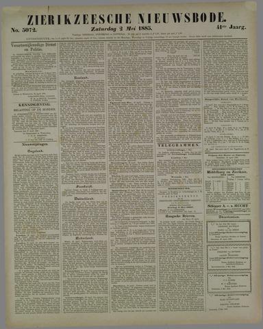 Zierikzeesche Nieuwsbode 1885-05-02