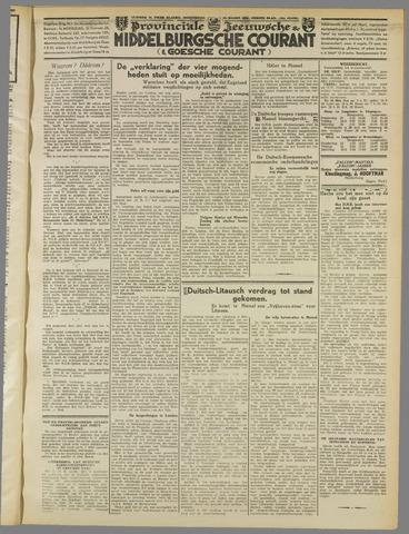 Middelburgsche Courant 1939-03-23