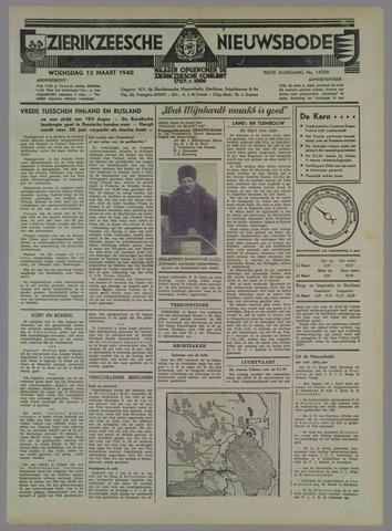 Zierikzeesche Nieuwsbode 1940-03-13