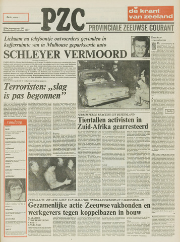 Provinciale Zeeuwse Courant 1977-10-20