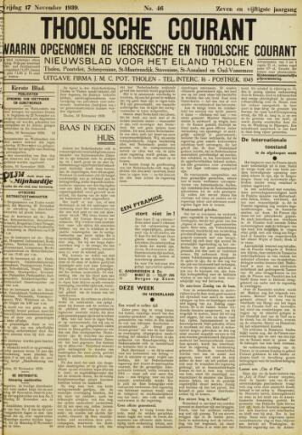 Ierseksche en Thoolsche Courant 1939-11-17