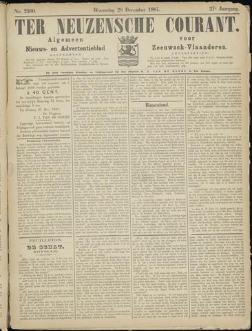 Ter Neuzensche Courant. Algemeen Nieuws- en Advertentieblad voor Zeeuwsch-Vlaanderen / Neuzensche Courant ... (idem) / (Algemeen) nieuws en advertentieblad voor Zeeuwsch-Vlaanderen 1887-12-28