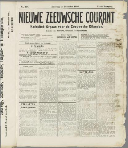 Nieuwe Zeeuwsche Courant 1905-12-16