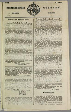 Zierikzeesche Courant 1844-03-26