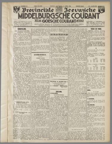 Middelburgsche Courant 1934-04-27