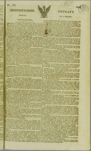 Middelburgsche Courant 1825-11-17