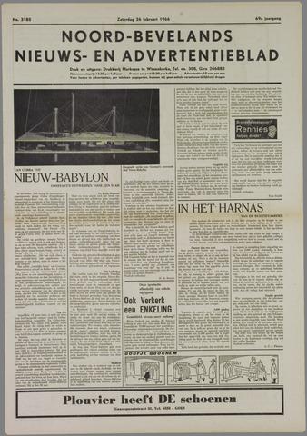 Noord-Bevelands Nieuws- en advertentieblad 1966-02-26
