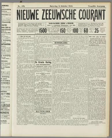 Nieuwe Zeeuwsche Courant 1916-10-21
